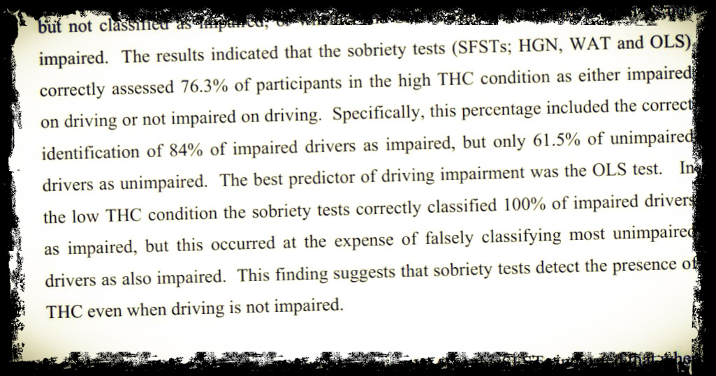 Research: Cannabis and Impaired Driving