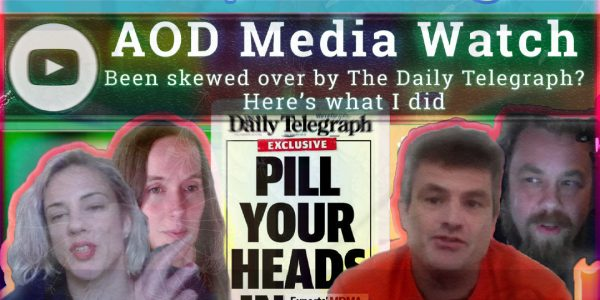 AOD Media Watch – Skewed by the Daily Telegraph
