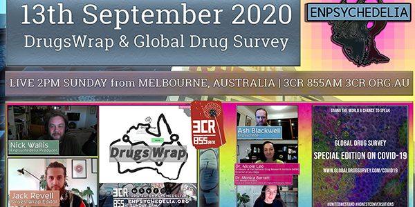 Global Drug Survey – COVID Edition (PT1)