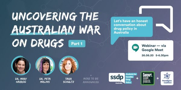 Support Don't Punish 2020 with SSDP Australia